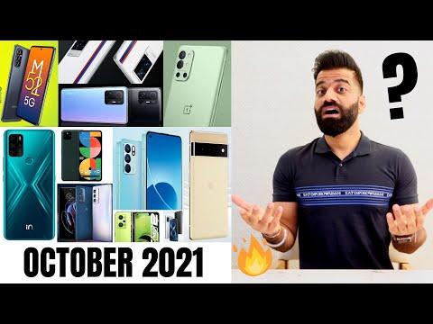 Top Upcoming Smartphones - October 2021🔥🔥🔥