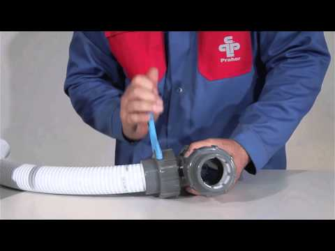 IBG® FlexFit® Verlegeanleitung 50 und 63mm Poolflexverrohrung