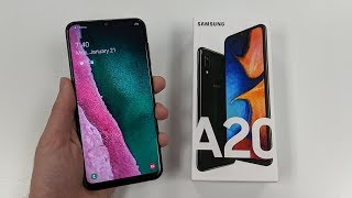 Samsung Galaxy A20 Unboxing & Impressions!