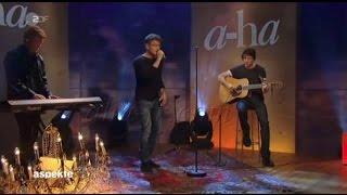 [A-ha FR] A-ha Under the Makup Acoustique - Aspekte ZDF 05/09/2015