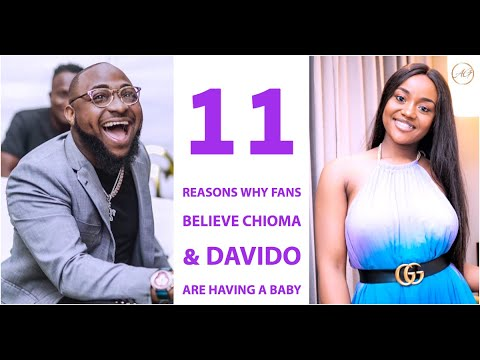 11 Reasons Why Fans Believe Chioma & Davido Are Expecting A Baby