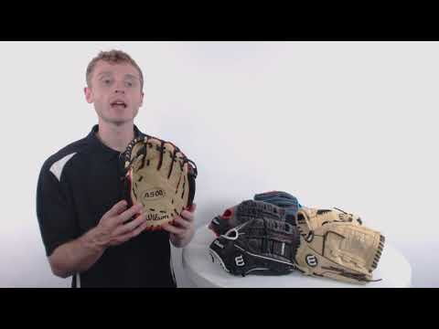 Wilson A500 Youth Baseball Gloves | 2018 Series Overview