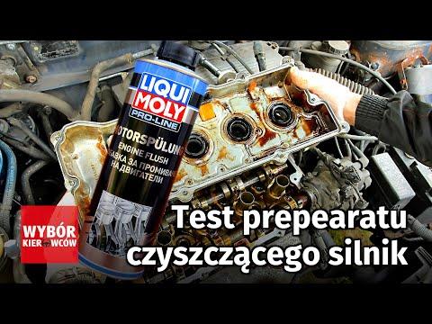 Test preparatu czyszczącego silnik Liqui Moly