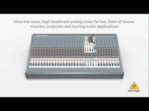 XENYX XL3200 Premium 32-Input 4-Bus Live Mixer with XENYX Mic Preamps and British EQs