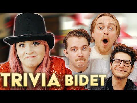 Craziest Answer in Game Show History | TRIVIA BIDET (Gus Johnson, Sam Bashor & Noah Grossman)