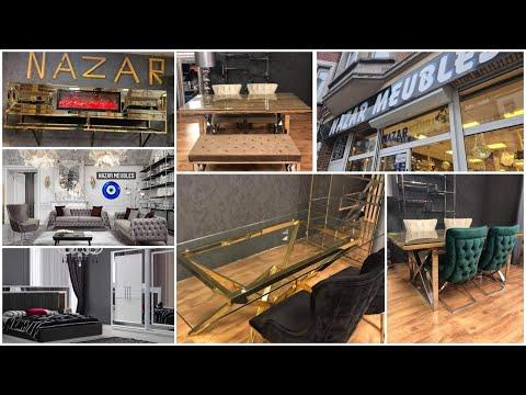 جولة في محل #Nazar meubles #Bruxelles# من بين أرخص المحلات للأثاث المنزلي _موديلات راقية وشيك _
