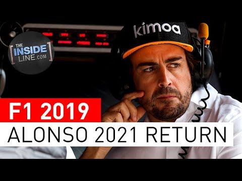 Image: Watch: Alonso pushing for 2021 F1 return?