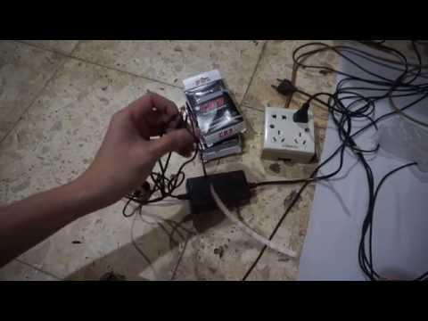 Bukti barang rusak dari penjual tokopedia GSM