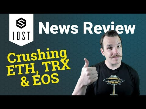 IOST News Review - Crushing ETH, TRX, & EOS!