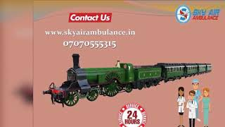 Select Most Trusted Train Ambulance Service Delhi