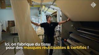 La Région Occitanie aux côtés des fabricants de masques – Entreprise Jules Tournier et Fils