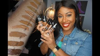 Deep Shades CoverGirl Matte Made Foundations
