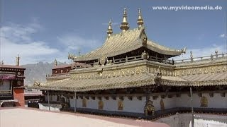 preview picture of video 'Jokhang Temple, Lhasa, Tibet - China Travel Channel'