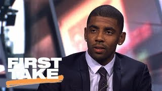 Kyrie Irving didn't tell LeBron James he was leaving Cavaliers | First Take | ESPN