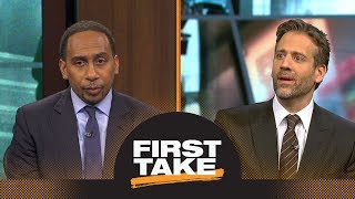 Stephen A. and Max agree: Kyrie Irving should not want to play with LeBron James | First Take | ESPN