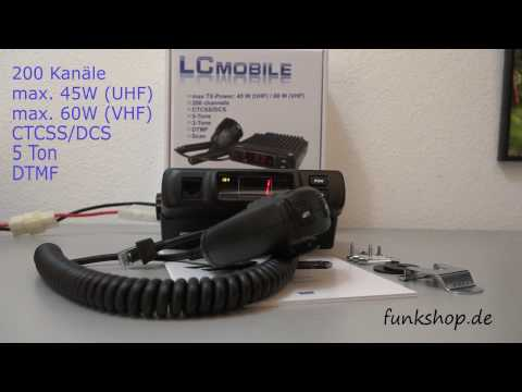 TEAM LCmobile VHF Betriebsfunkgerät Mobilfunkgerät