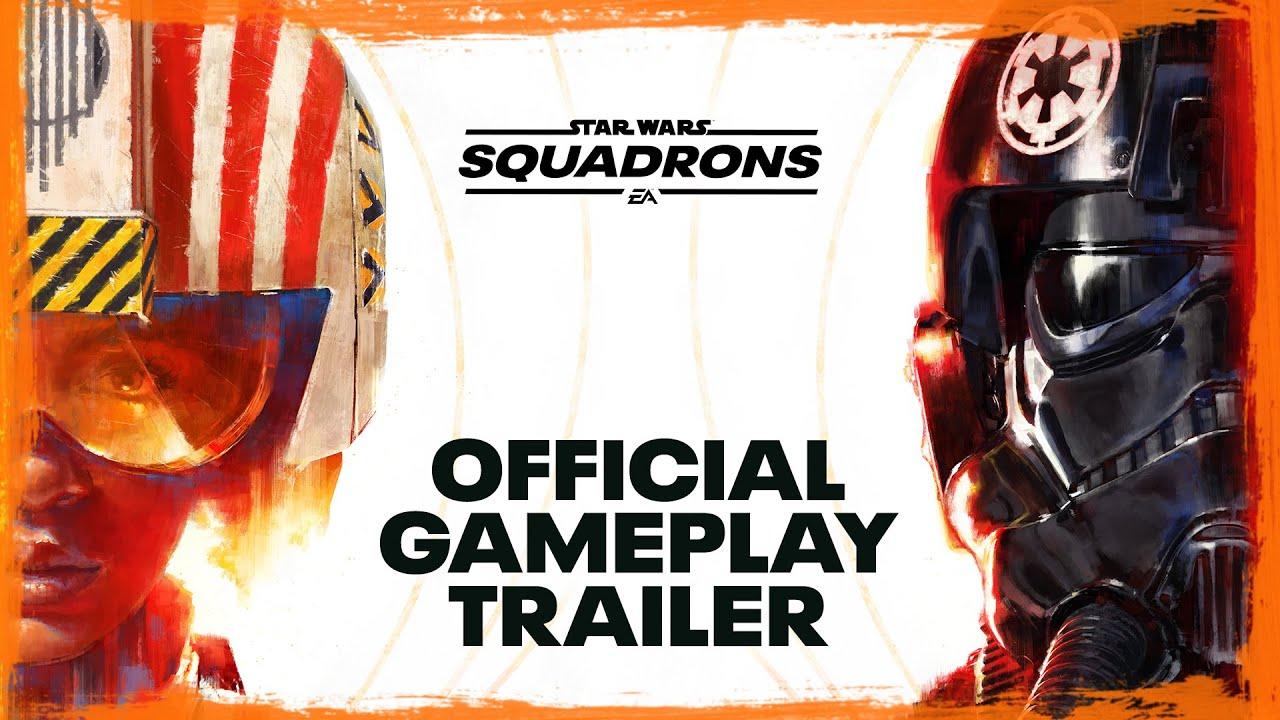 Геймплейный трейлер игры Star Wars: Squadrons