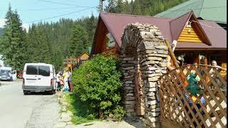 Колыба горячий гуцул в Закарпатье