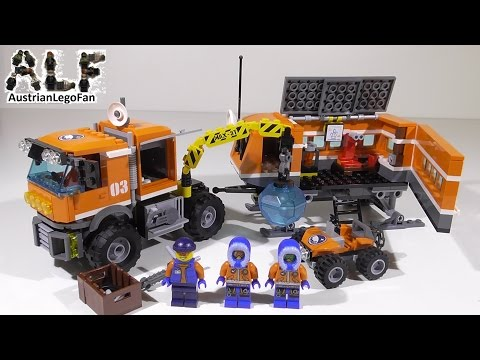 Lego City 60035 Arctic Outpost / Arktis Truck - Lego Speed Build Review