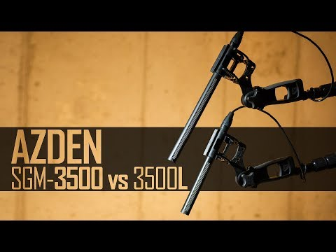 Azden SGM-3500 Series Shotgun Microphones