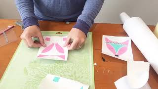 Silhouette Tutorial: Layering Adhesive Vinyl Decals