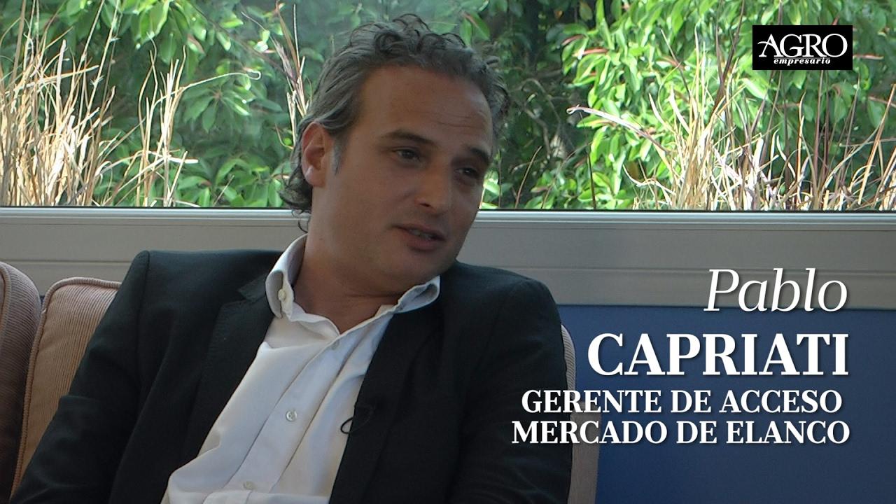 Pablo Capriati - Gerente de Acceso Mercado de Elanco