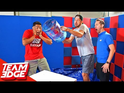 Water Bottle Flip Challenge!! 💦