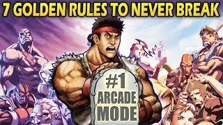 Fighting Game Commandments - 7 Golden Rules to NEVER Break!