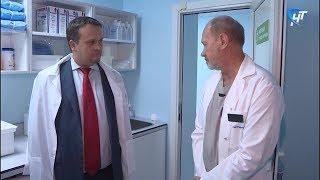 Губернатор Андрей Никитин посетил областную больницу и онкологический диспансер