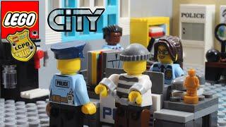 Lego City Police Full Story Stop Motion Animation