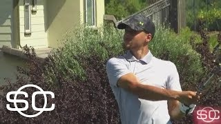 Steph Curry Tuning Up For First Pro Golf Event | SportsCenter | ESPN