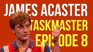 James Acaster on Taskmaster Episode 8