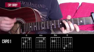 Cry Baby - The Neighbourhood - Guitar Lesson Tab (Tutorial) - How To Play