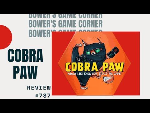 Bower's Game Corner Cobra Paw Review