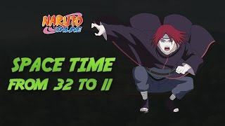 Naruto Online : Space Time | TOP 32 to 11 | Nagato, Rock Lee, Susanoo Sasuke
