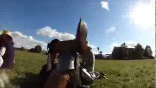 preview picture of video 'Mazury Paralotnie na Turnieju Rycerskim DRIGALENSIS 2013 w Drygałach 24 25 08 2013'