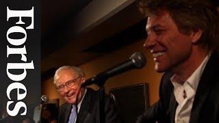 Warren Buffett & Jon Bon Jovi: A Ukulele Duet For Charity