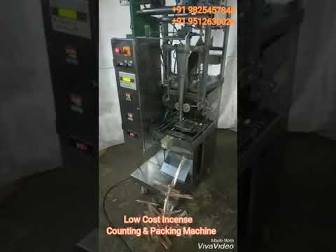 Low Cost Incense Counting & Packing Machine