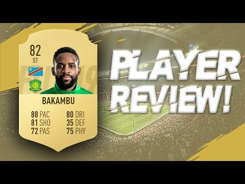 FIFA 19 - 82 RATED CEDRIC BAKAMBU PLAYER REVIEW | FIFA 19 ULTIMATE TEAM PLAYER REVIEW