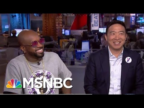 2020 Dem Andrew Yang Slams The Knicks For Bad Sportsmanship | The Beat With Ari Melber | MSNBC