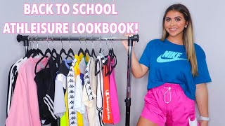 BACK TO SCHOOL ATHLEISURE LOOKBOOK 2019! *COLLEGE* (summer 2019)