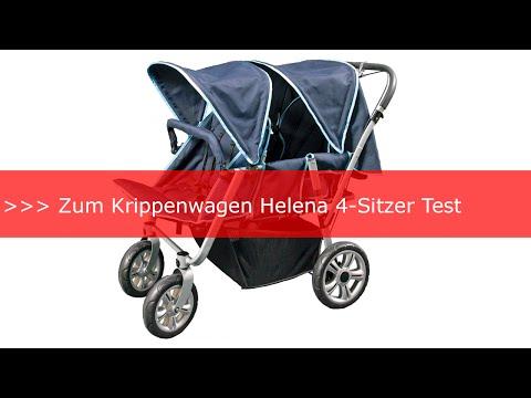 Erfahrungen: Krippenwagen Helena 4 Sitzer Test