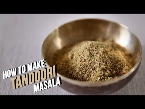 How To Make Tandoori Masala | Homemade Tandoori Garam Masala Recipe By Smita Deo | Basic Cooking