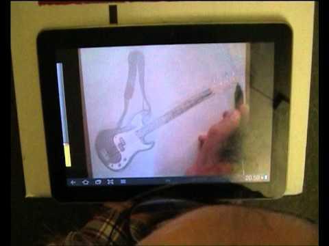 Video of Artist's Eye