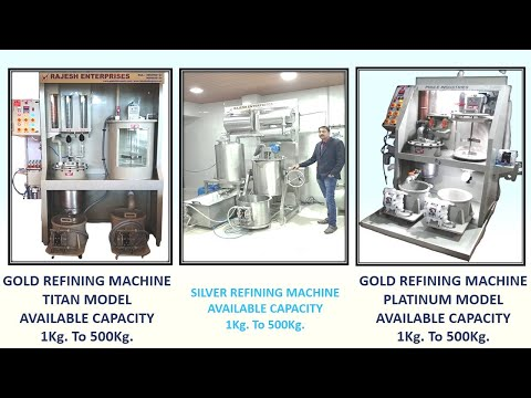 Gold Jewellery Refining Machine