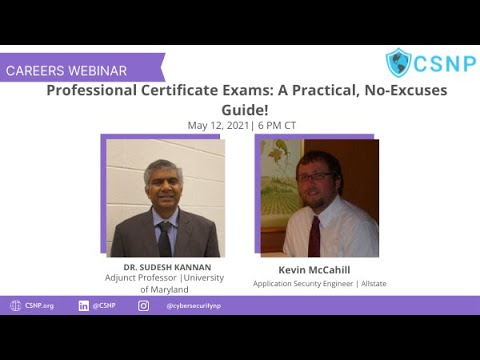Professional Certificate Exams - A Practical Guide - YouTube