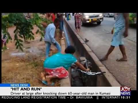 """Hit and Run"" - News Desk on JoyNews (1-5-18)"