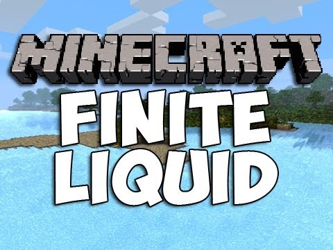 Minecraft Finite Liquid Mod | Episode 977