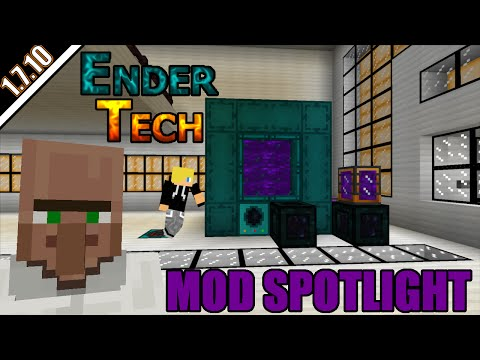 EnderTech mod (Thermal Expansion Addon) | Mod spotlight | Minecraft 1.7.10
