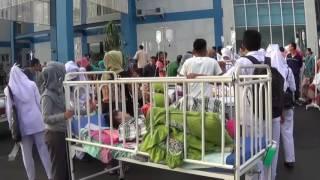 Kepanikan Pasien RS Pasca Gempa Padang